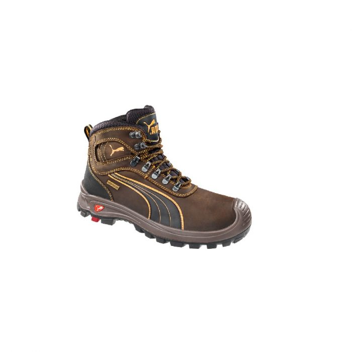 950b81182fc6 PUMA 630227.  159.95. Sierra Nevada Brown. Lace-up Safety Boot ...