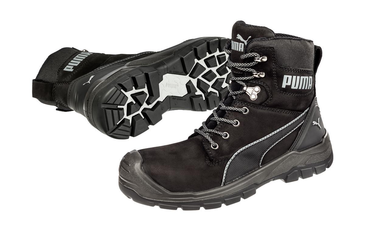 PUMA CONQUEST BLACK - Workboot Warehouse safety footwear work boots d6064b710